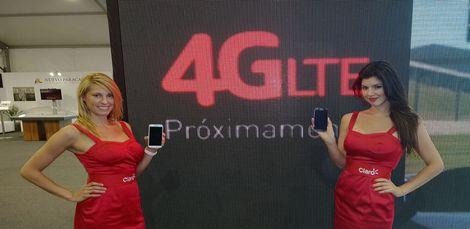 Claro muestra tecnología 4G-LTE en CADE (Copiar)