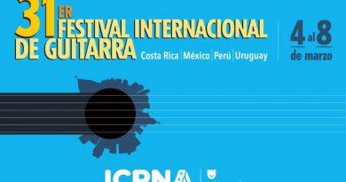 31.° FESTIVAL INTERNACIONAL DE GUITARRA