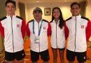 Nadadores Berendson destacan con la selección nacional