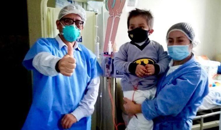 La unidad dehematólogapediátricade EsSalud La Libertad continúa brindandoatenciónen el Hospital Víctor Lazarte