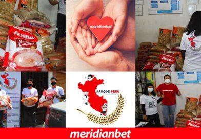 ¡MERIDIANBET LLEVÓ AYUDA A LA ONG APRODE PERÚ!